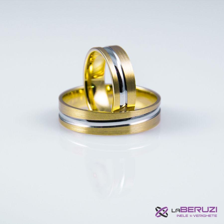 Verighete din aur de 14k GAT 003 - in stoc