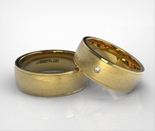 Verighete din aur galben de 14k SS 061