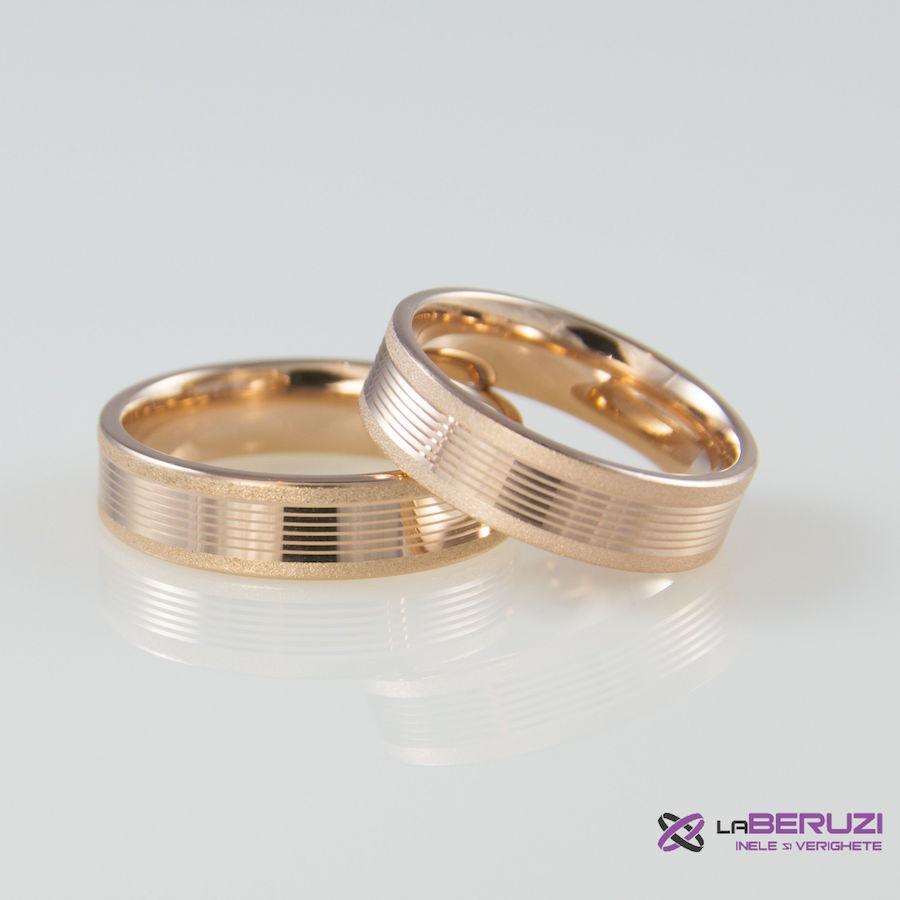 Verighete din aur de 14k SS 306