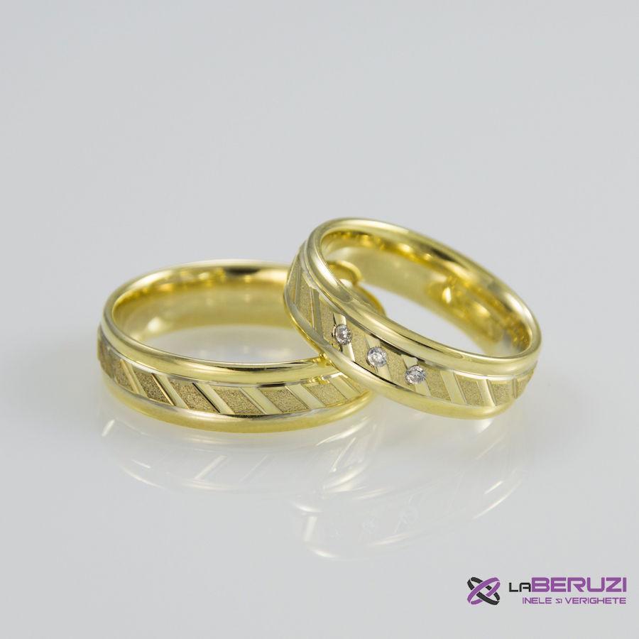 Verighete din aur de 14k SS 361