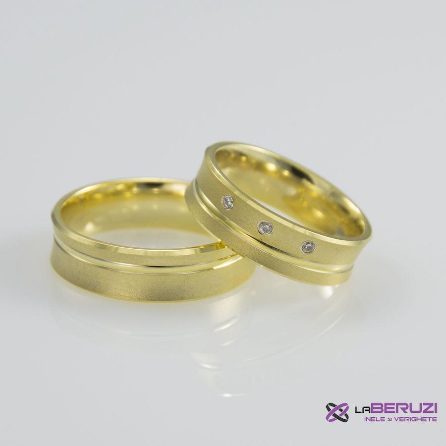 Verighete din aur de 14k SS 314