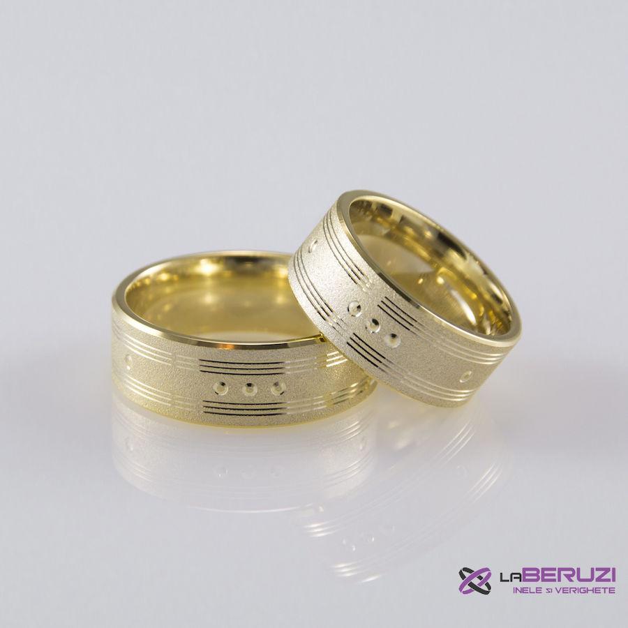 Verighete din aur de 14k SS 424