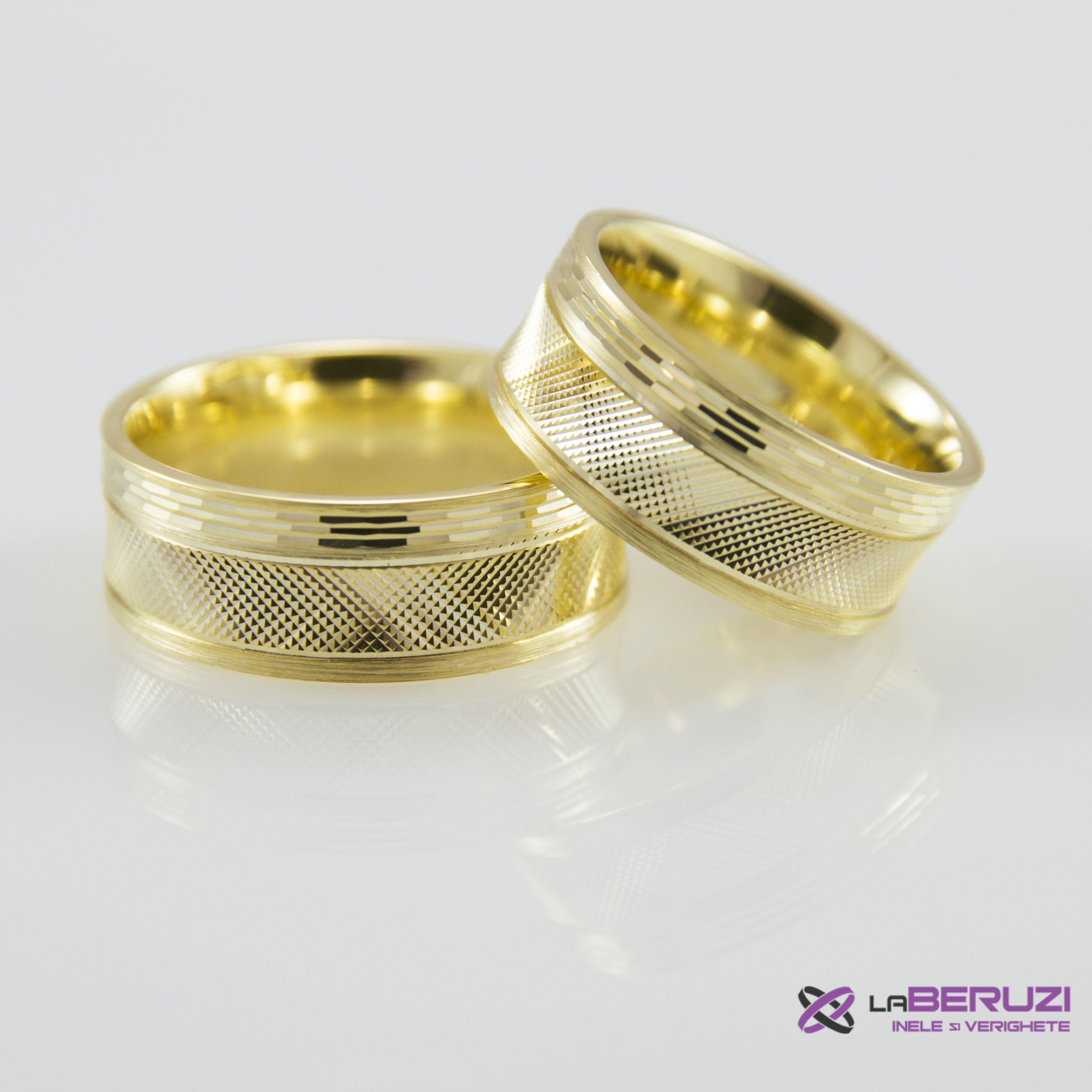 Verighete din aur de 14k SS 478