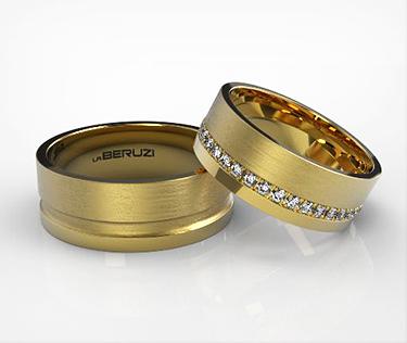 Verighete din aur galben de 14k SS 134