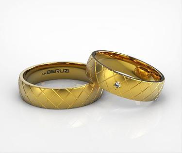 Verighete din aur galben de 14k SS 098