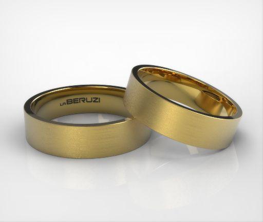 Verighete din aur galben de 14k SS 059